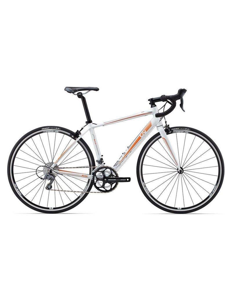 Liv Avail 5 S Pearl White/Orange