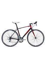Giant Defy 5 (Compact) M Satin Black/Red