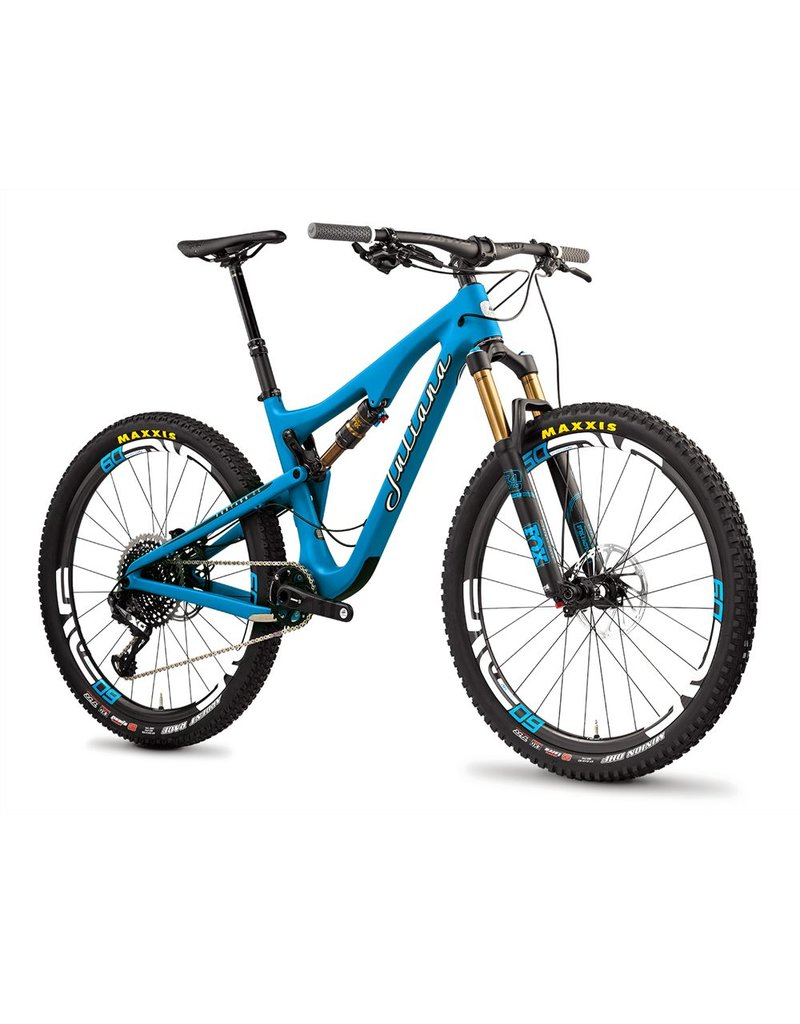 Juliana Juliana 18 Furtado 2.1 c XE 27.5 Alloy Wheels Medium Matte Blue - White - DMEO