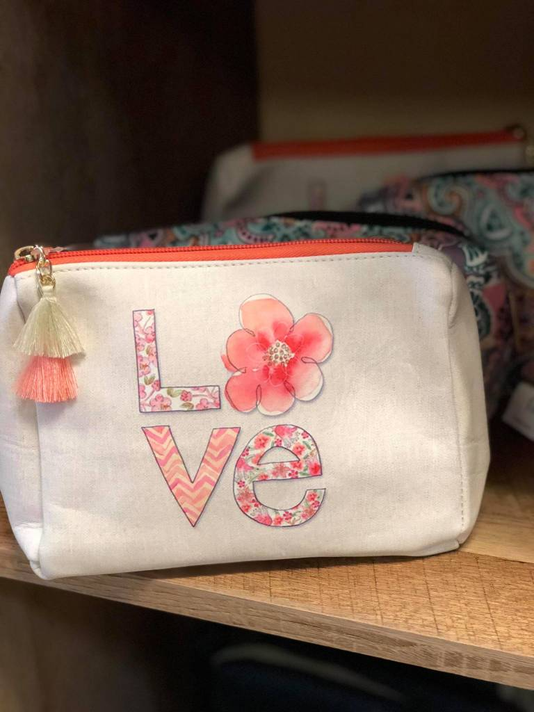 Love Cosmetic Bag