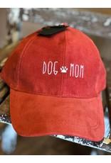 Dog Mom Corduroy Cap