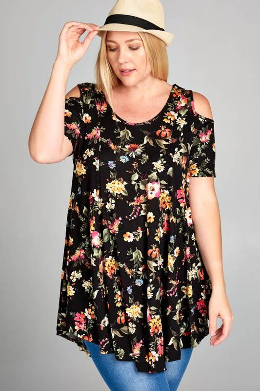 Floral For Days Tunic