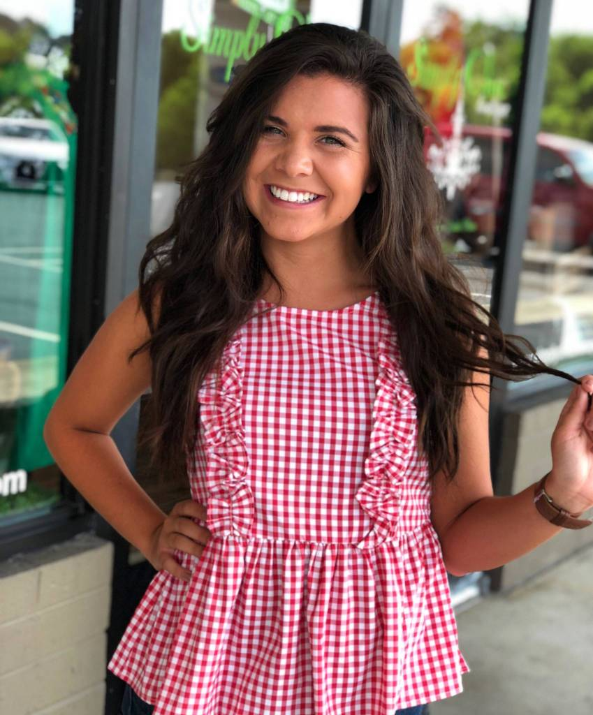 Going Gingham Top