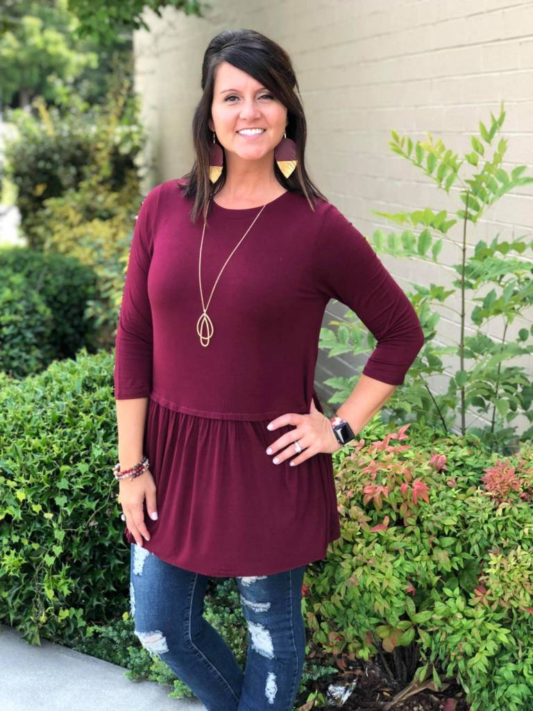 Staying Together Tunic Plus