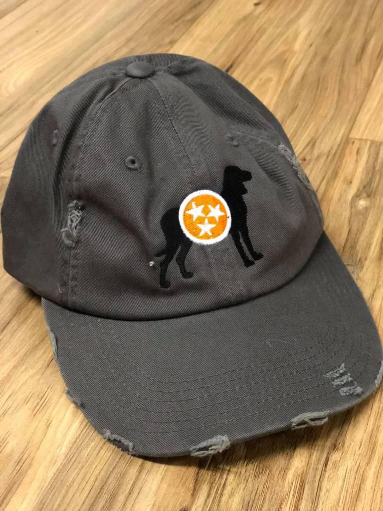 Distressed Tristar Dog Cap