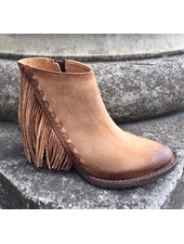CORRAL FRINGE LEATHER BOOTIE