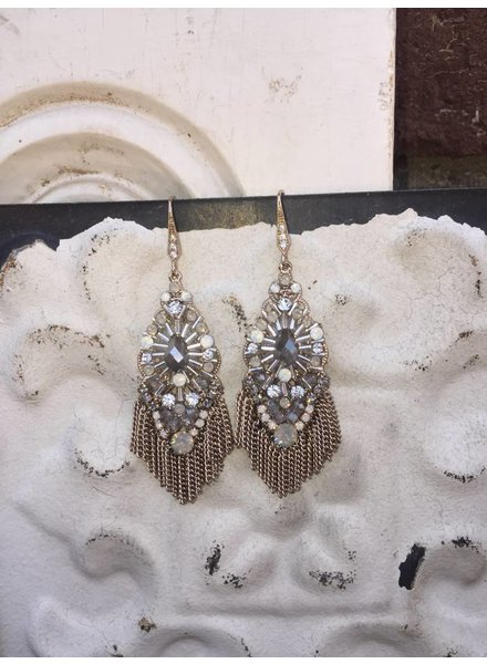 THEIA VENETIAN CHANDELIER EARRINGS