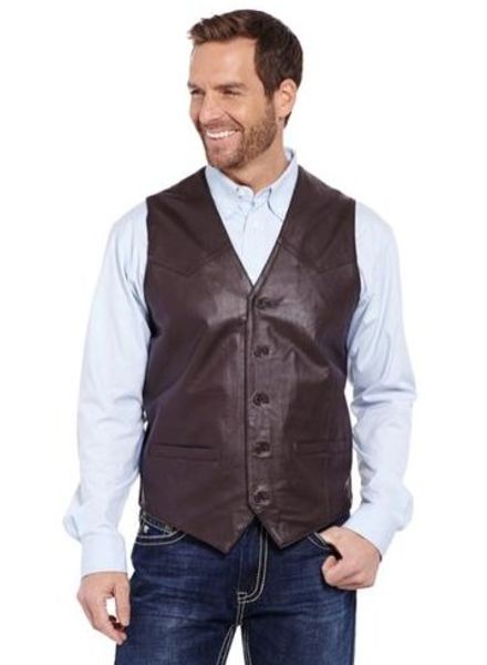 CRIPPLE CREEK NAPPA LEATHER VEST