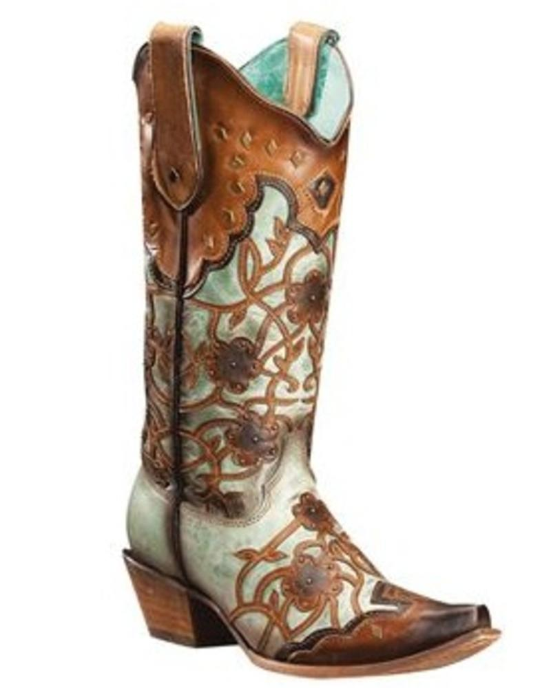 CORRAL MINT MAPLE BOOT