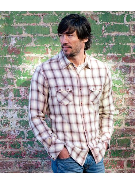 RYAN MICHAEL SONORA PLAID SHIRT
