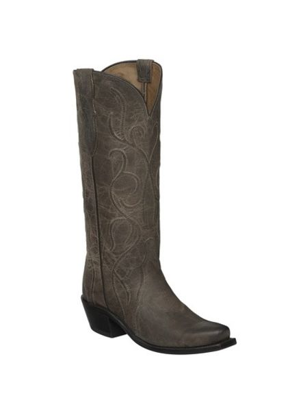 LUCCHESE PATSY BOOT-ANTHRACITE