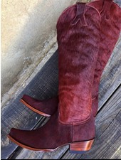 OLD GRINGO MAYRA HAIR ON BOOT