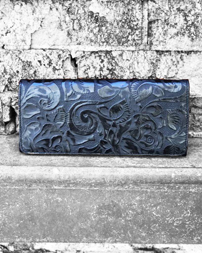 JUAN ANTONIO ROSAL LEATHER WALLET