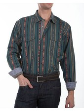SCULLY SIGNATURE WESTERN STRIPE SHIRT