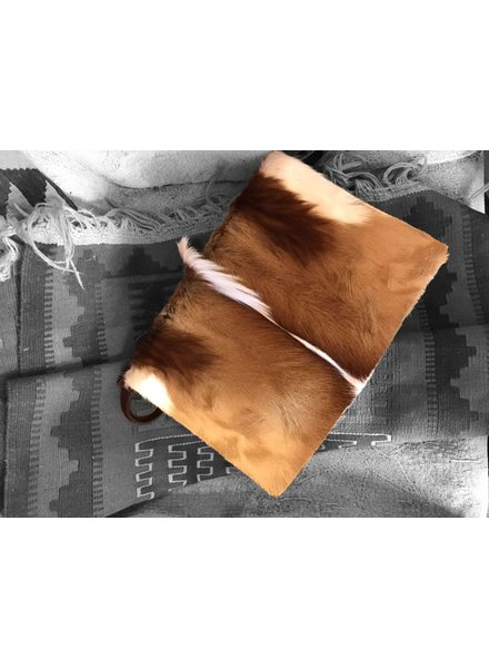 JUAN ANTONIO JUAN ANTONIO CLUTCH HAIR ON,  ANTELOPE BROWN