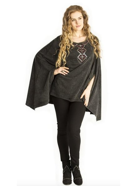 DOUBLE D RANCHWEAR GASPE PONCHO