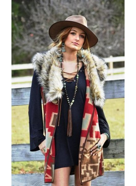 TASHA POLIZZI OLD RANCH VEST
