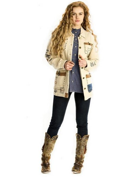 DOUBLE D RANCHWEAR DESERT WATER BAG JACKET