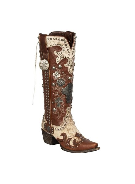 DOUBLE D RANCHWEAR BY LANE WOMENS AMMUNITION BOOTS
