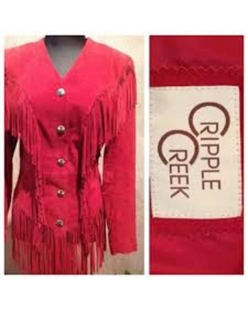 CRIPPLE CREEK GHOST RIDER SUEDE LEATHER JACKET by CRIPPLE CREEK
