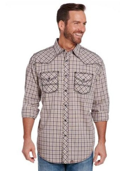 CRIPPLE CREEK ENZYME WASH WOVEN SHIRT