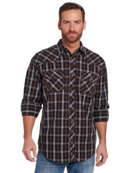 CRIPPLE CREEK LONG SLEEVE VINTAGE WASH WOVEN SHIRT