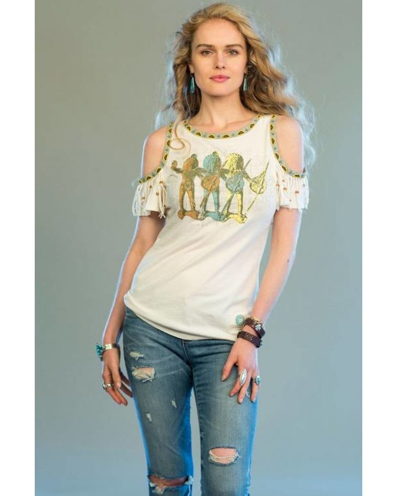 DOUBLE D RANCHWEAR  PEACEMAKERS TOP