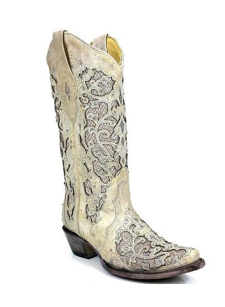 GLITTER INLAY BOOT