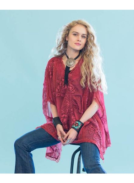 DOUBLE D RANCHWEAR OLD SCHOOL GROOVES PONCHO