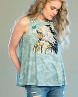 DOUBLE D RANCHWEAR TALL CHIEF TANK