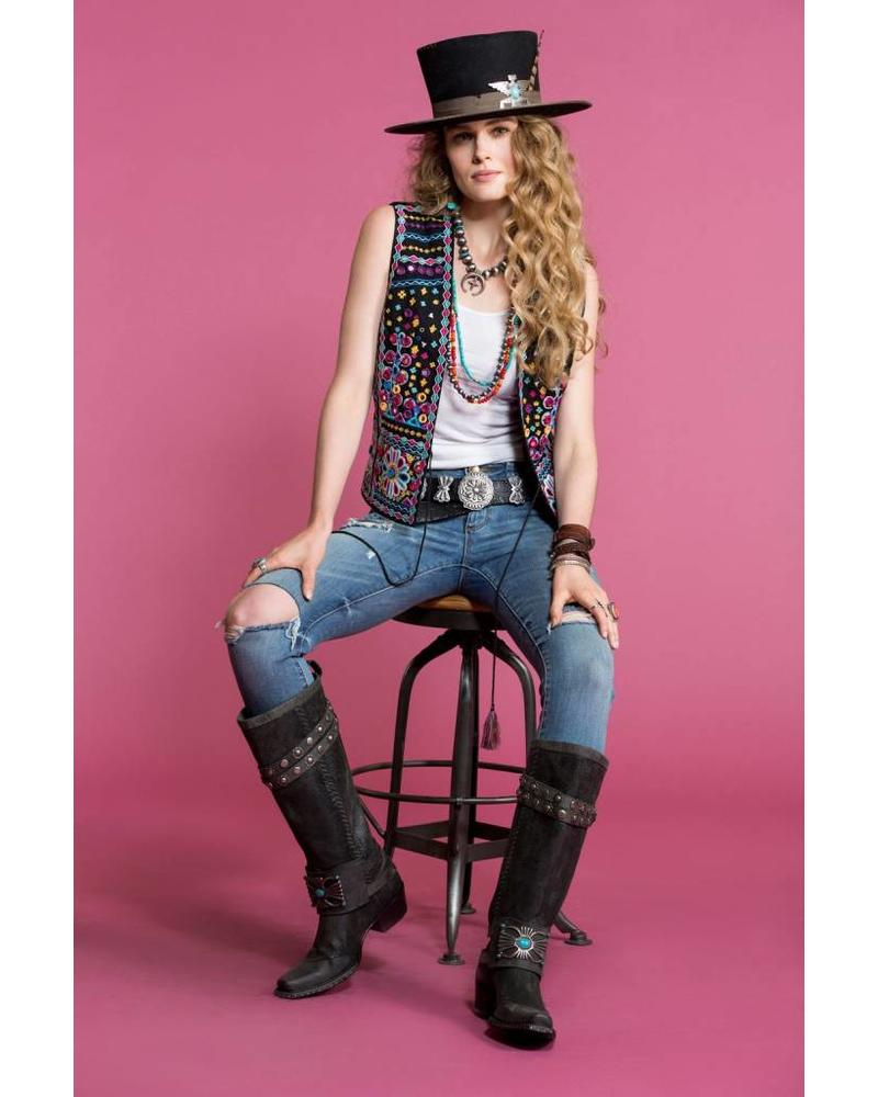 DOUBLE D RANCHWEAR SKUTTLE BUTTIN' VEST