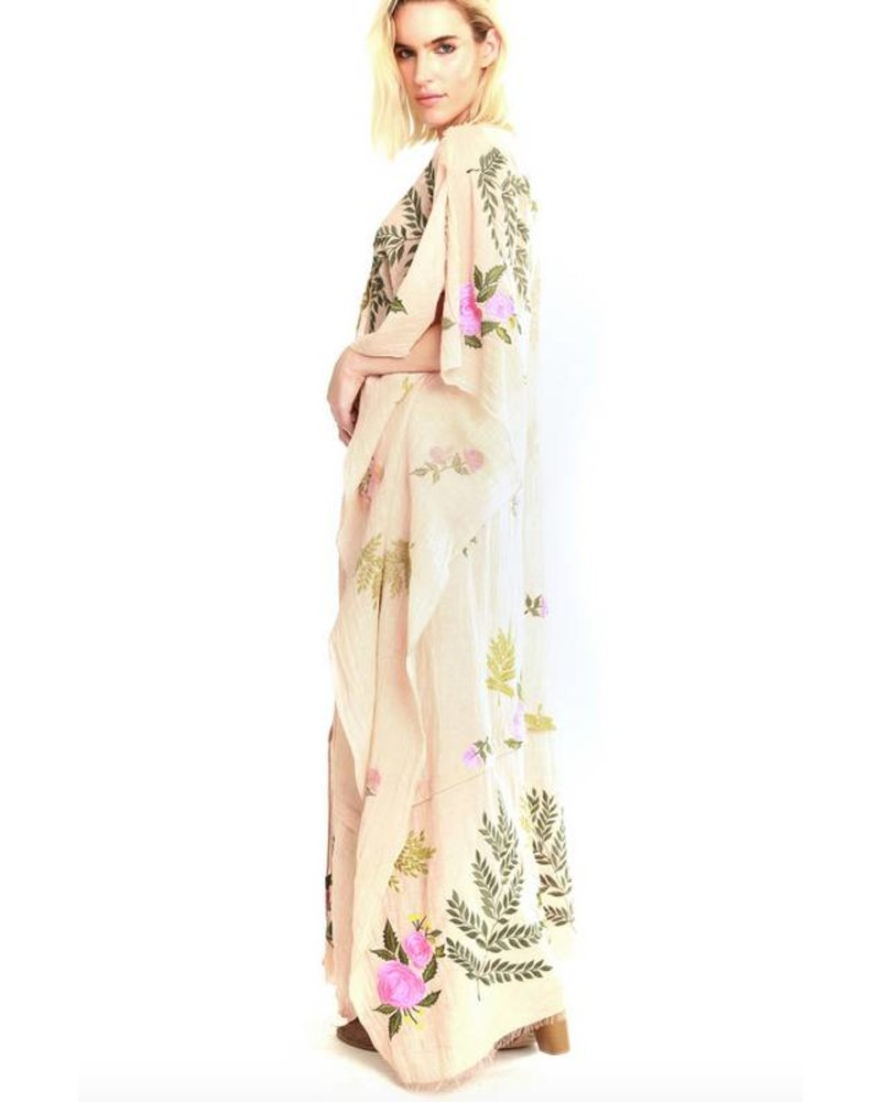 ARATTA THE MOST BEAUTIFUL  MAXI PONCHO