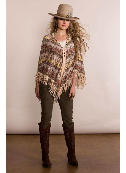 DOUBLE D RANCHWEAR SPICE TRADE PONCHO