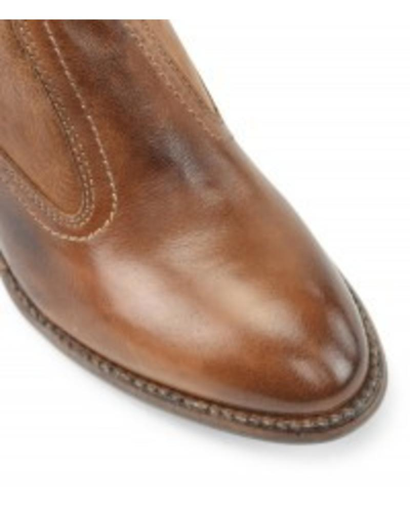 DAWN TAN TEAK SHORT BOOTS