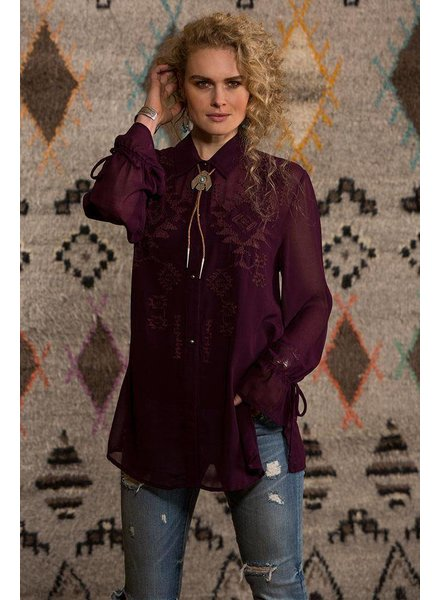 DOUBLE D RANCHWEAR RIO CHIQUITO BLOUSE