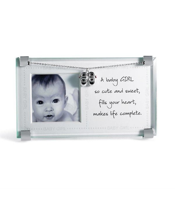New Baby Girl Clip Frame - The Snugglebunny Boutique