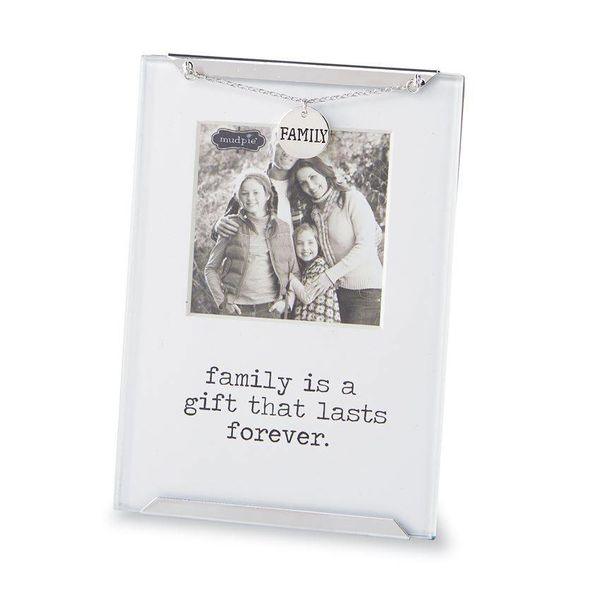glass metal picture frame - The Snugglebunny Boutique