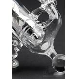 DC Glass DC Glass Ray Gun Pendant Rig Black & White