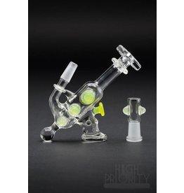 DC Glass DC Glass Ray Gun Pendant Rig Lemon Drop