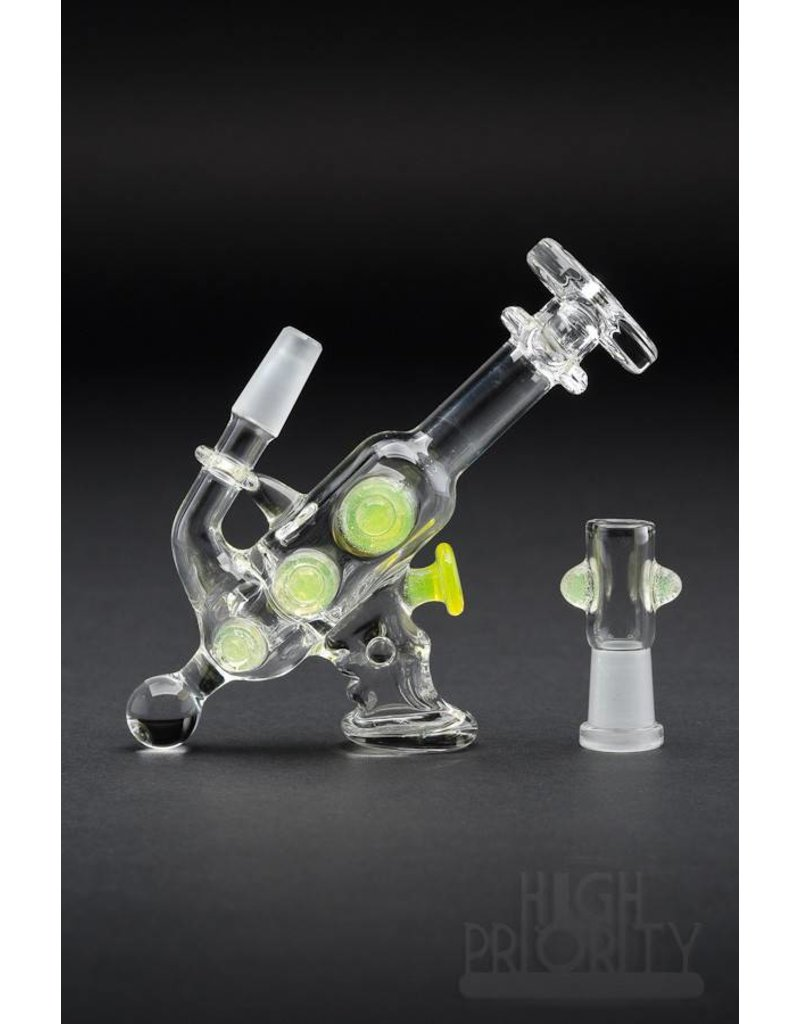 DC Glass DC Glass Ray Gun Pendant Rig Lemon Drop