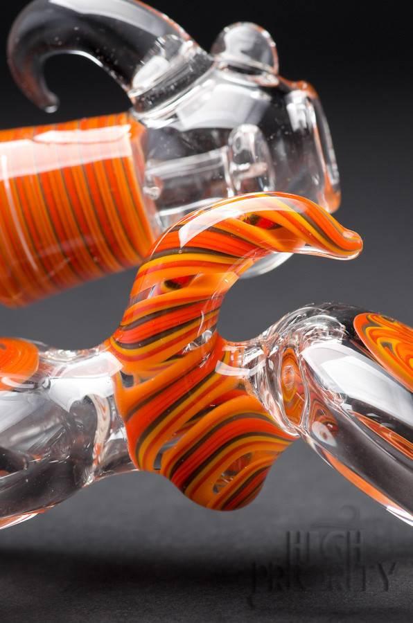 Headford Glass Headford Linework Micro Inline Bubbler