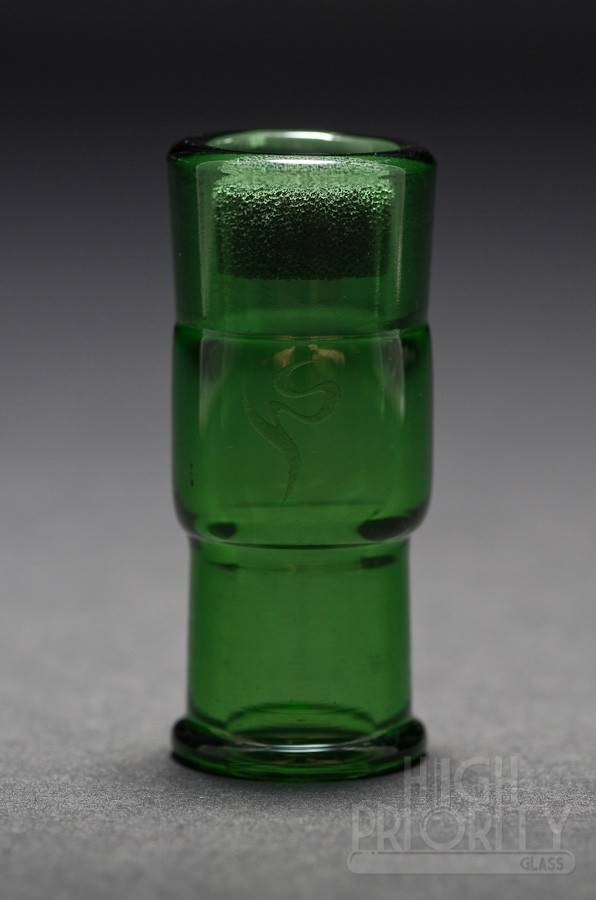 Health Stone Glass Health Stone Glass Emerald Slide 14mm Female