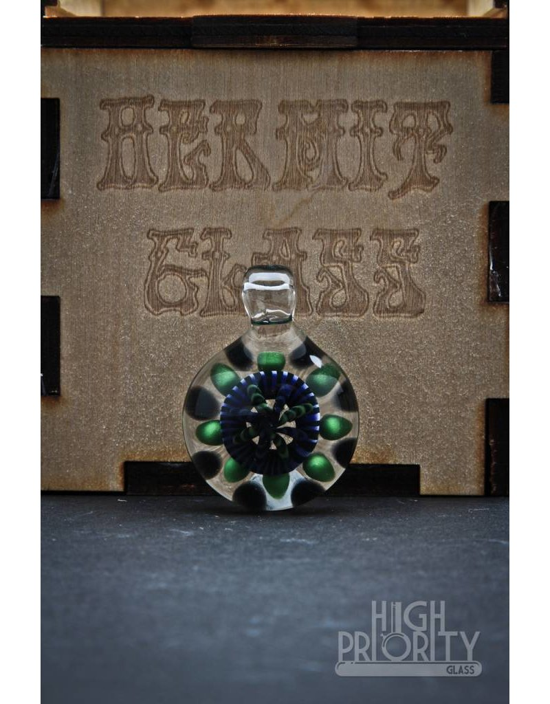 Hermit Hermit Glass Implosion Pendant