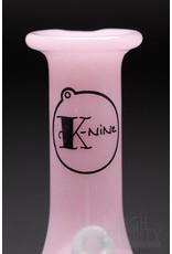 K-Nine Glass K-Nine Pink Mini Tube Pendant
