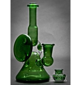 Lamar Glass Lamar Glass Green Floater Set