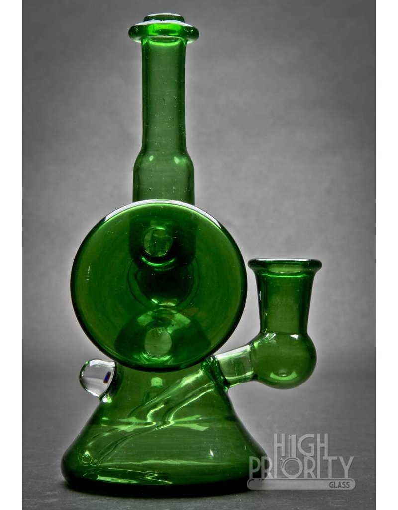 Lamar Glass Lamar Glass Green Floater Set