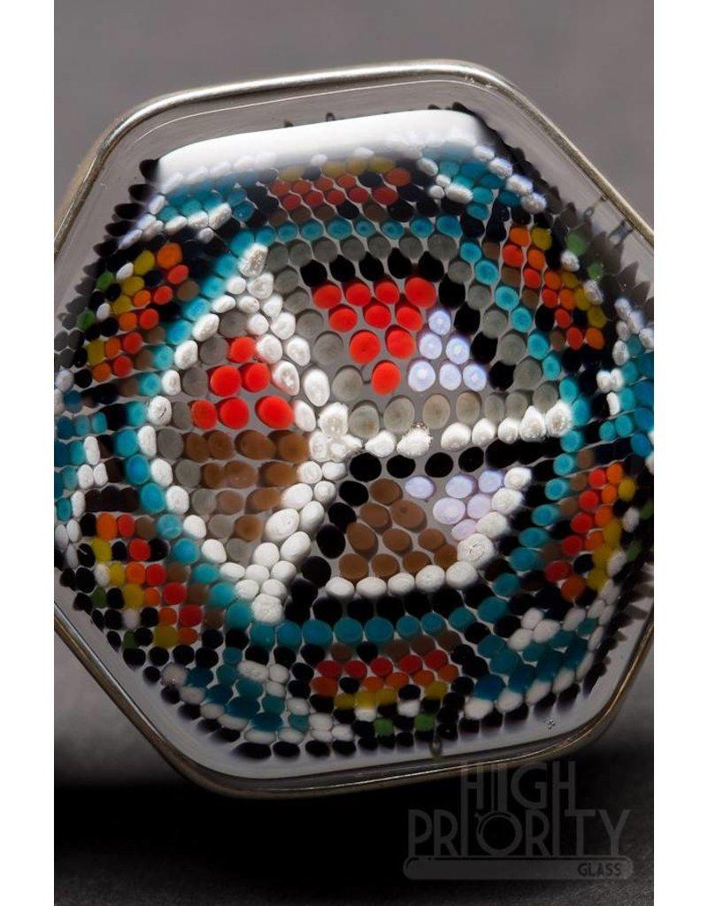 Robin Moore Robin Moore 3D Box Dot Pattern Pendant