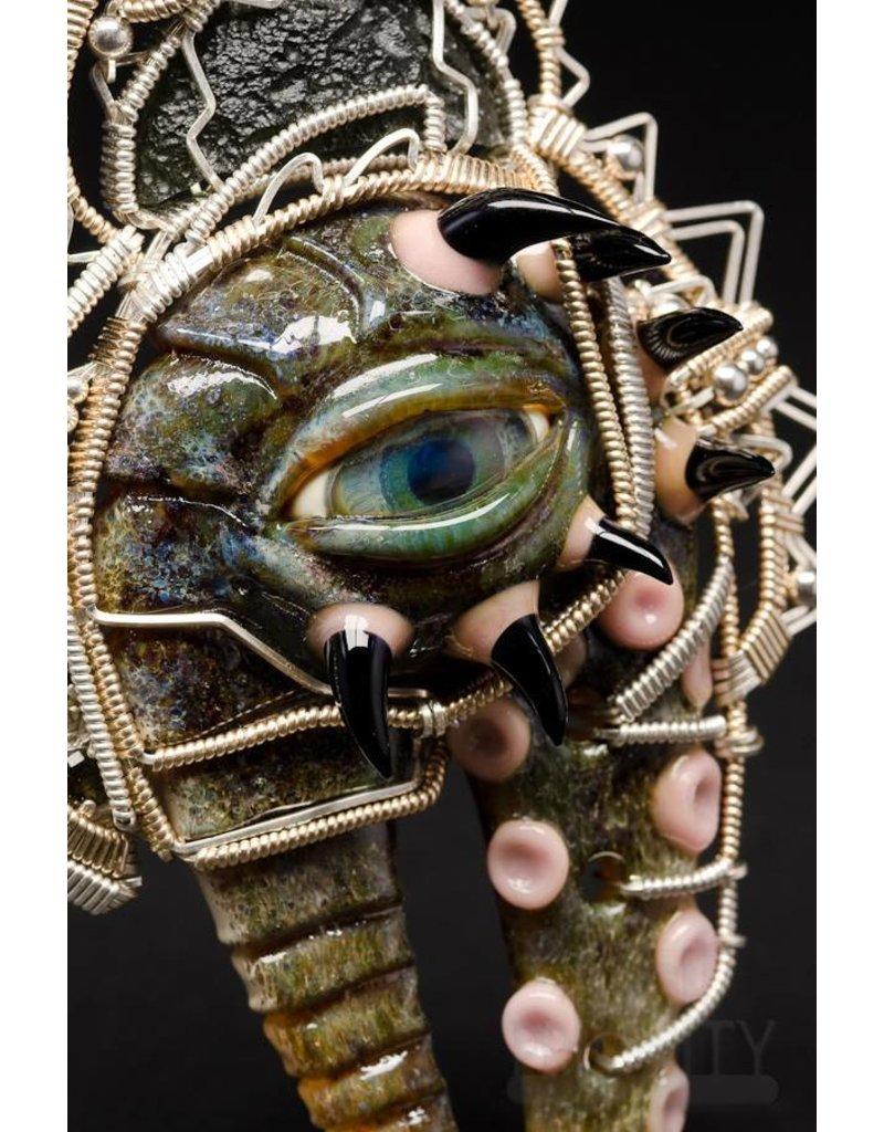 Salt Glass Salt & Jason Burruss Monster Pendant
