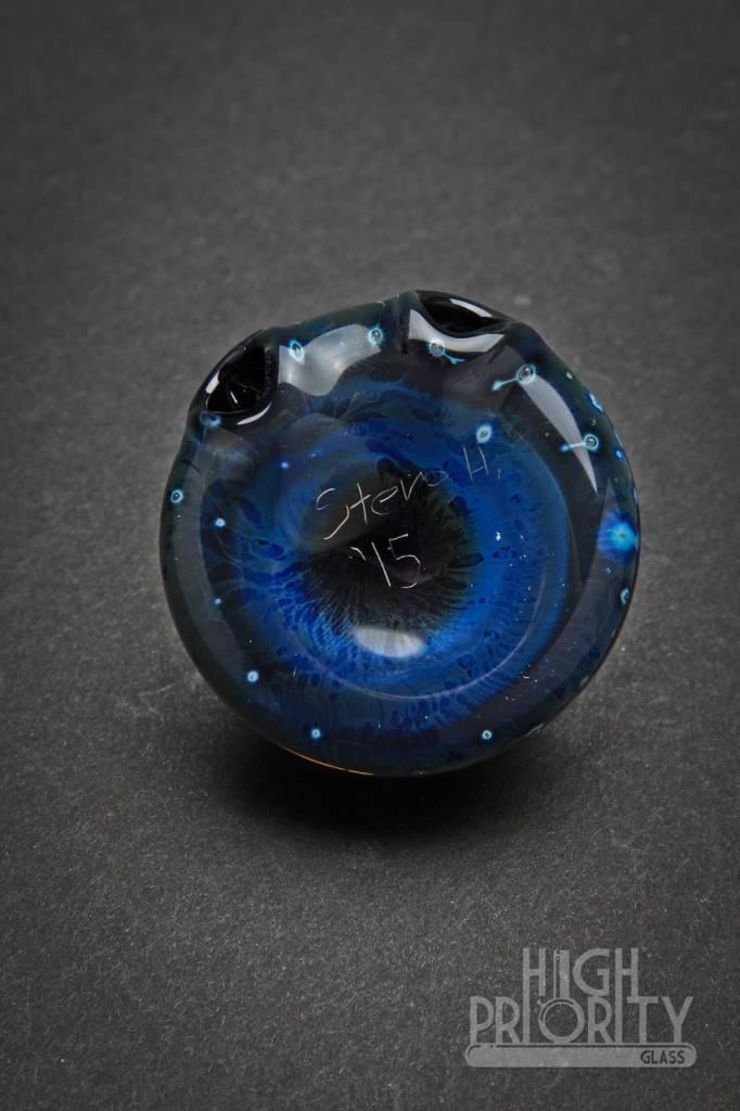 Steve H. Glass Steve H. Snowflake Pendant #2