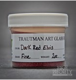 Trautman Art Glass TAG Frit Dark Red Elvis 2oz Fine
